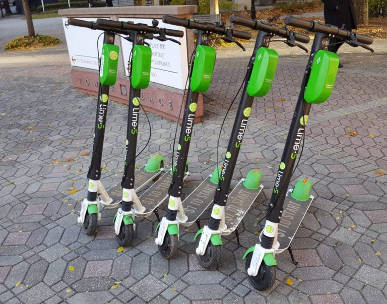 LIME e-Scooters are OUT