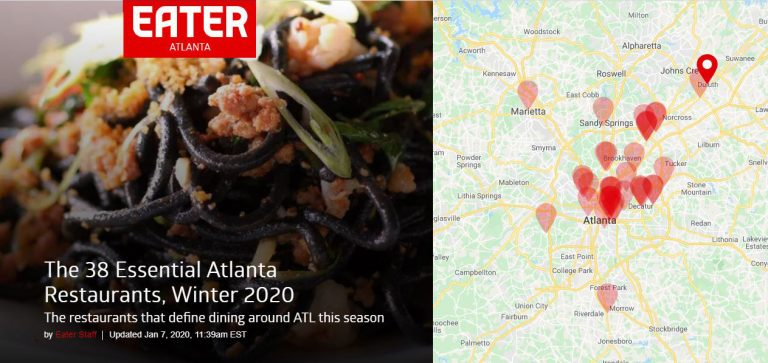 Let's kick off the New Year with Eater Atlanta's 38 Essential Restaurants list